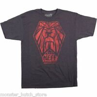 Brand With Tags Neff Snoop Lion Tee Shirt Charcoal Medium-large Limited Rare