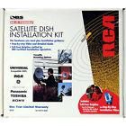 RCA Universal Satellite TV System Self Install Kit - NEW