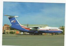 Uralinteravia IL-76M Aviation Postcard, A756