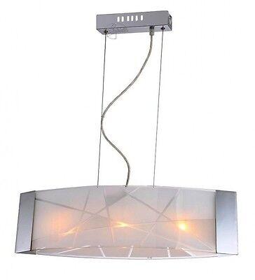 Das Beste Glas Pendelleuchte Pendellampe Esstisch Lampe Esszimmer Lampe Feria 100 Cm 3x G9