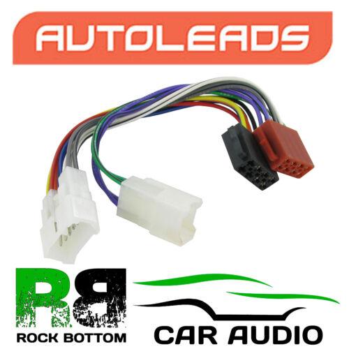 Autoleads PC2-17-4 Para Toyota Corolla 92-00 Auto Estéreo Arnés Cable Adaptador ISO