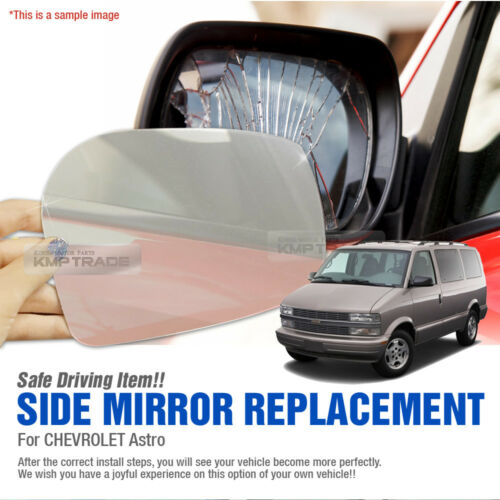 Car Side Mirror Replacement LH 1P for CHEVROLET 1990-1998 Astro mini van