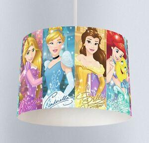 Disney princess 038 childrens bedroom drum lampshade light shade image is loading disney princess 038 childrens bedroom drum lampshade light mozeypictures Images