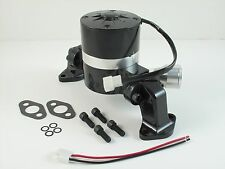Black Aluminum Electric Water Pump Small Block Chevy Chevelle Street Rod S10