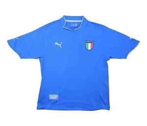ITALIA 2003-04 Authentic Home Shirt (eccellente) XL soccer jersey