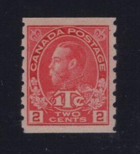 Canada-Sc-MR6ii-1916-2c-1c-Admiral-WAR-TAX-COIL-Die-I-VF-NH