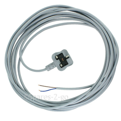 HOOVER Vacuum Cleaner Mains Cable Hoover Lead Grey 7.2M Universal All Models