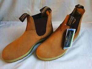BLUNDSTONE-1318-CASUAL-CHELSEA-BOOTS-550-CLASSIC-MEN-S-SIZE-9