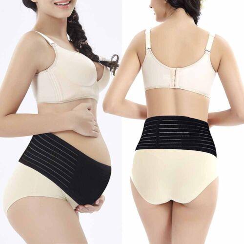 Pregnancy Maternity Support Belt Back Fine Bump Belly Band Waist Lumbar Lower