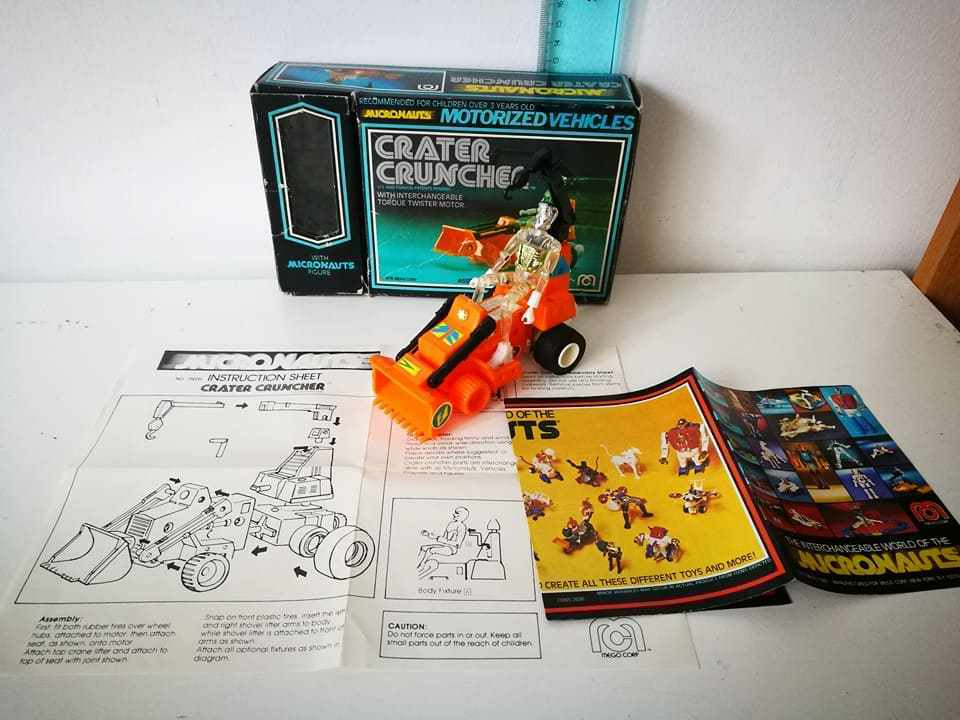 I MICRONAUTI CRATER CRUNCHER MEGO VINTAGE TOY