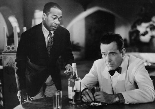 Casablanca Humphrey Bogart  Romantic Drama Hollywood Movie Film B/&W Poster