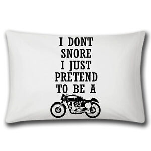 I-Don-t-Snore-I-Pretend-To-Be-A-Motorbike-Pillowcase-Bedding-Funny-Gifts