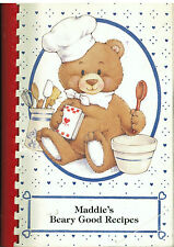 *HICKORY HILL IL 1994 FRIENDS OF SCOTT KAREN +MADELINE BUCKNER COOK BOOK *MADDIE