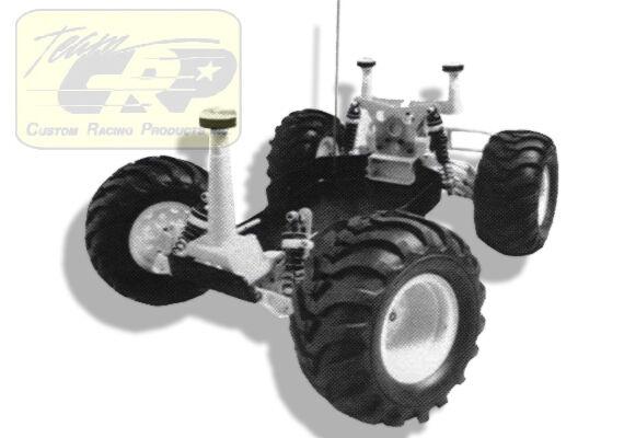 BODY MOUNTS TRUCK CONVERSION  Vintage Associated RC10 Gold Pan  Team CRP 1561-WT
