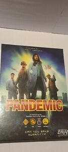 Pandemic Board Game - Z-MAN Games - new open box cards sealed - COMPLETE GAME