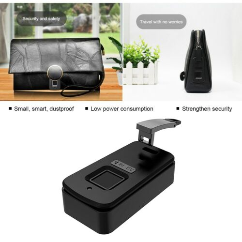 FL-B6-S Fipilock Smart Fingerprint Lock Borsa Portafoglio Zaino Blocco antifurto