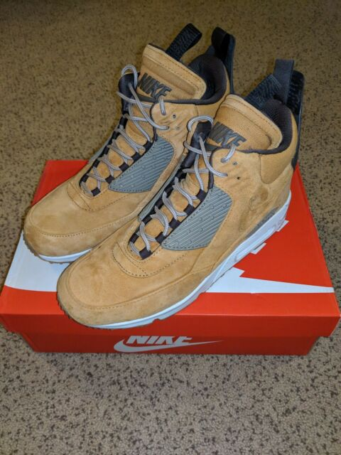 best cheap f3c57 f7e0d Nike Air Max 90 Sneakerboot Winter Waterproof - Wheat 684714-700 Mens Size  11
