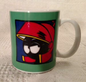 Details About Marvin The Martian Mug Green W Marvin Martian
