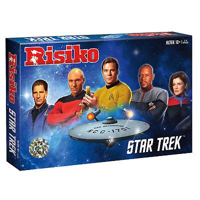100% QualitäT Risiko Star Trek Startrek Strategie Spiel Gesellschaftsspiel Brettspiel Deutsch