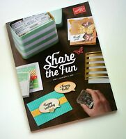 Stampin Up 2015-16 Annual Catalog Rubber Stamps Crafts Cards Idea Book