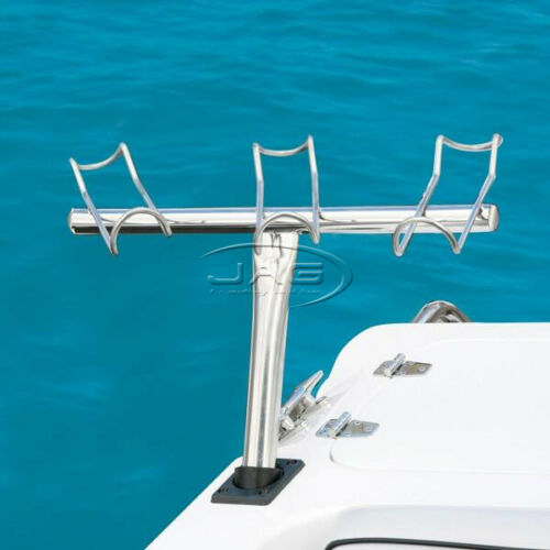 316 STAINLESS STEEL 3-in-1 ROD HOLDER 3-WAY BOAT SNAPPER FISHING STARBOARD SIDE