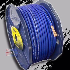 OFC Copper AWG Platinum Power Ground Wire Audio Amplifier Cable US 8 Gauge 20ft