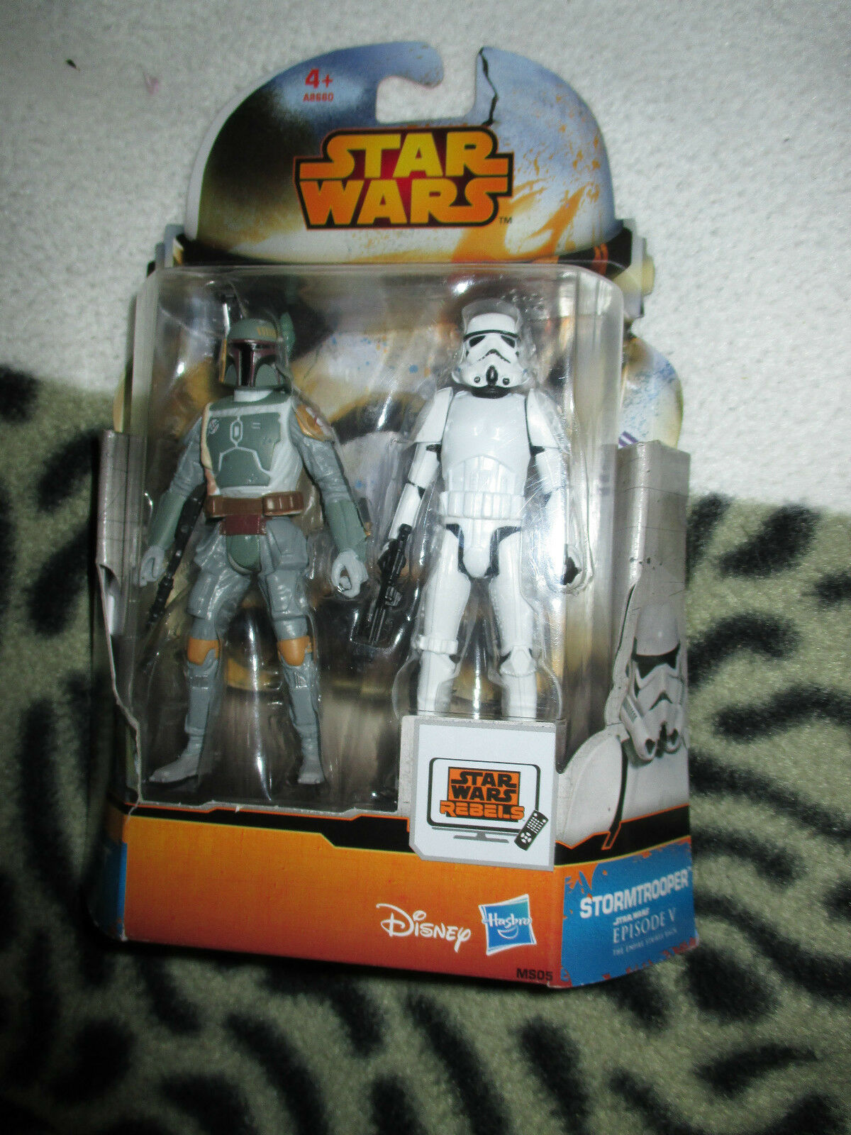 Star wars  Episode V Boba fett and stormtrooper   figure set