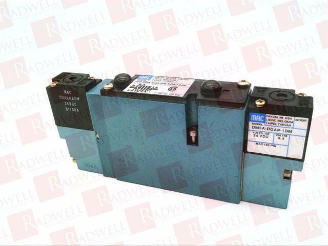 NEW IN BOX 92BBAA000DMDDAP1DM MAC VALVES INC 92B-BAA-000-DM-DDAP-1DM