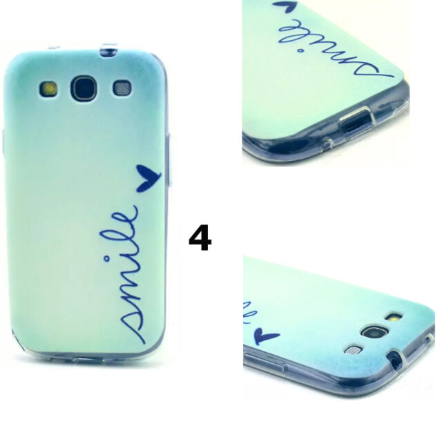 New Cute Cartoon Pattern TPU Gel Rubber Soft Case Cover For Samsung Galaxy Phone