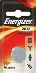 3 x Energizer CR2032 3V Lithium Coin Cell Battery 2032