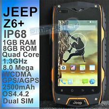 ART.249 NUOVO SMARTPHONE JEEP Z6+ IP68 IMPERMEABILE, ANTIURTO, RAM 1GB, ROM 8GB