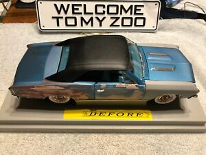 67-Chevy-Chevelle-SS396-Built-Weathered-junk-barn-yard-find-Jewel-custom-1-18