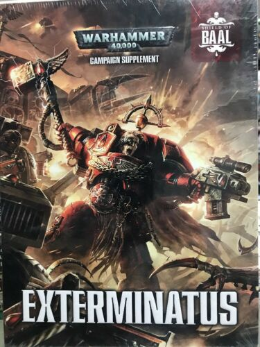 Exterminatus Warhammer 40K Hard Cover Campaign Supplement Blood Angels New GW