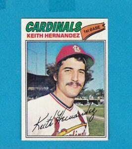 1977 TOPPS BASEBALL SET BREAK 95 KEITH HERNANDEZ CARDS NM+