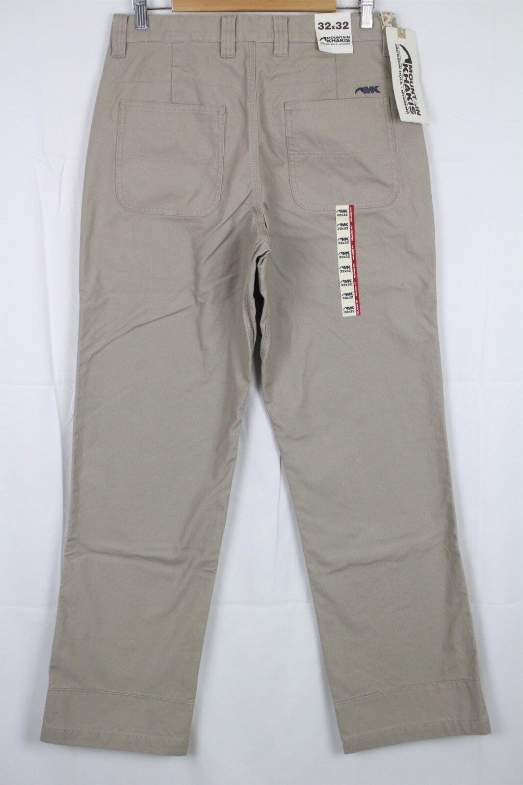New Mountain Khakis Men's Original Mountain Pant Relaxed Fit 32 X 32 Freestone
