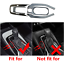 Carbon fiber color Water Cup Holder Frame Panel Cover For Toyota Corolla Hybrid