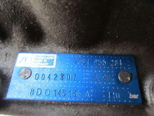 8d2, b5 Servo 110 Bar 7681955281 audi a4 1.8 T