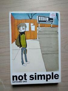 Not Simple, Seinen Manga, English, 16+, Natsume Ono