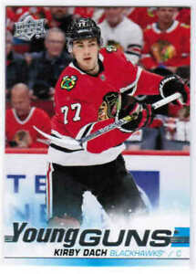 19-20-UD-SERIES-2-HOCKEY-YOUNG-GUNS-ROOKIE-RC-CARDS-451-500-U-Pick-From-List