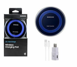 New Samsung QI Fast Charge Wireless Charger Pad S6/S7/S8/S9 Plus Iphone X 8 plus