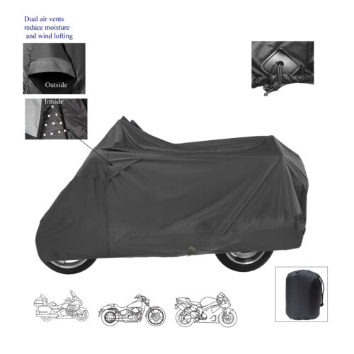 Twist-N-Go TNG DELUXE MOTORCYCLE SCOOTER BIKE ALL WEATHER STORAGE COVER