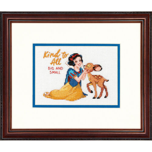 Disney Princess Snow White Dimensions Counted Cross Stitch Kit Belle
