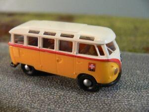 1//87 Brekina VW T2 Bus PTT weiß CH Schweiz