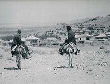 HAMADAN c. 1960 - Iraniens à Dos d'Âne  Iran  - Div 6313