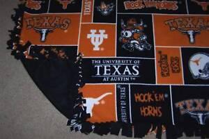 NCAA Fleece Fabric Baby Blankets - Various Teams