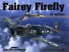 201e/ Squadron - Aircraft in Action No 200 - Fairey Firefly - TOPP HEFT