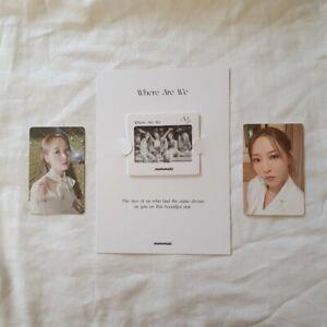 Official photocard - Mamamoo - Waw album