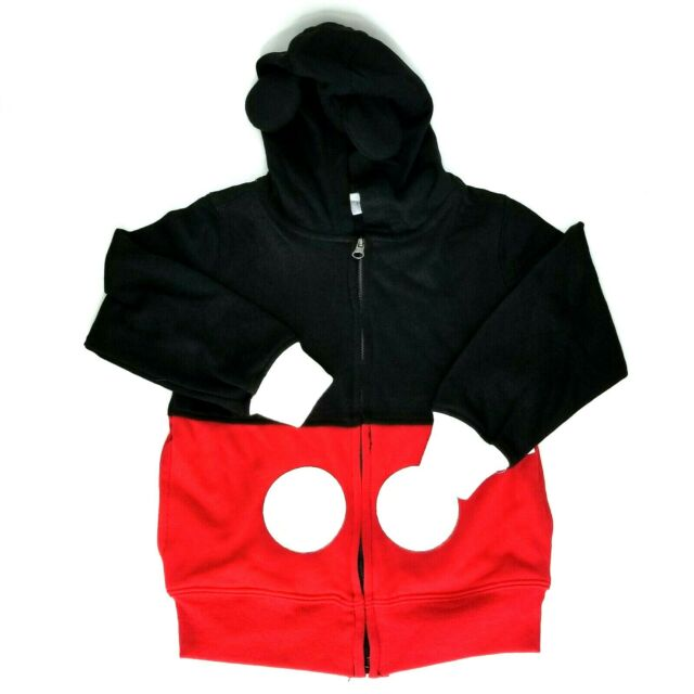 NEW Disney Little Boys Mickey Mouse Hoody Toddler Black 4T FREE SHIPPING