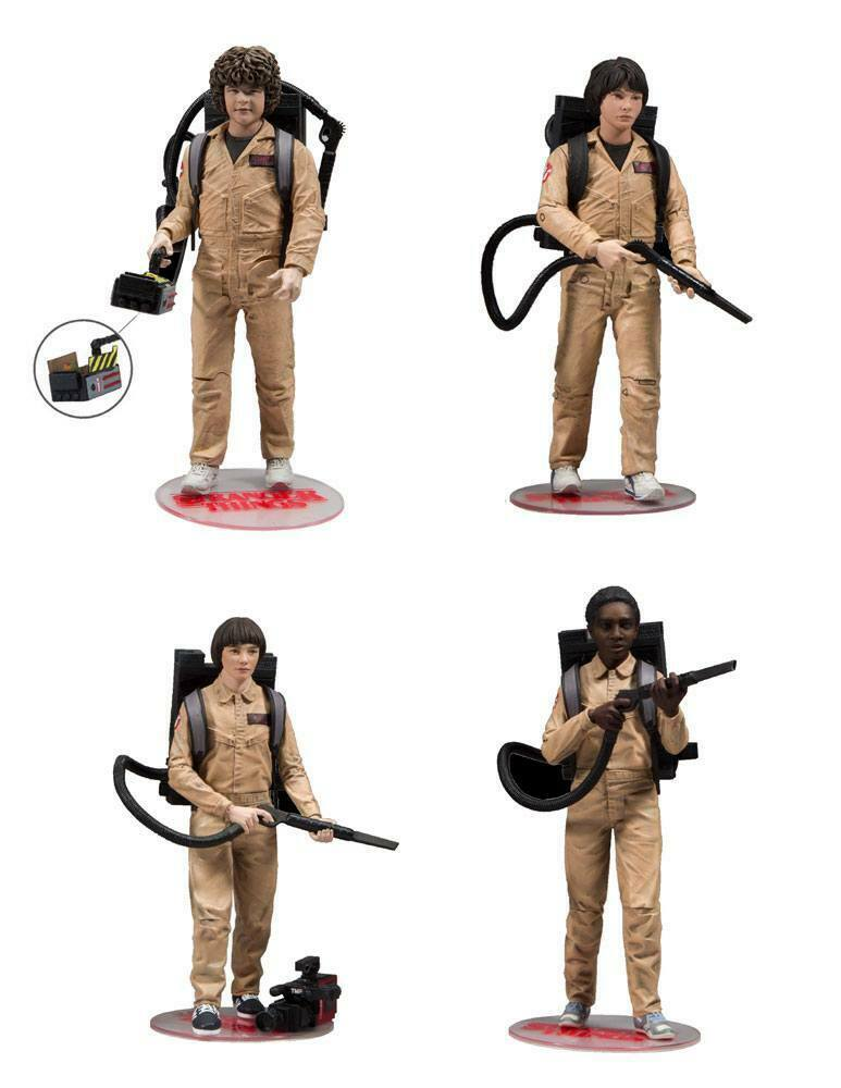 Stranger Things azione cifra 4Pack Ghostautobusters 15 cm