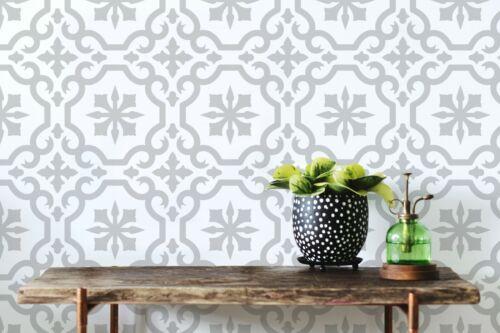 Floors /& more Salamanca TILE Stencil Home Decor Pattern STENCIL Paint Walls